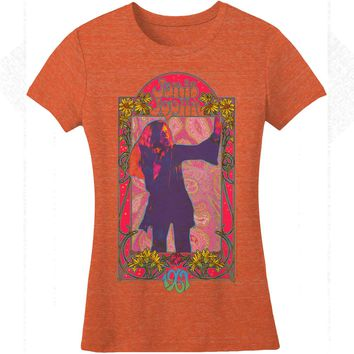Janis Joplin  1967 Junior Top Heather