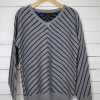 Follow Me Stripe Sweater Pullover