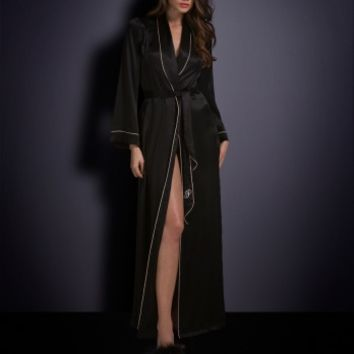 Gowns & Kimonos by Agent Provocateur - Classic Long Dressing Gown