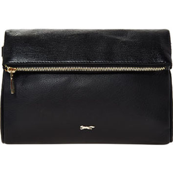 Paul Costelloe Black Leather Cross Body Bag