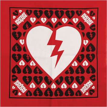 Mayday Parade Broken Heart Bandana Red