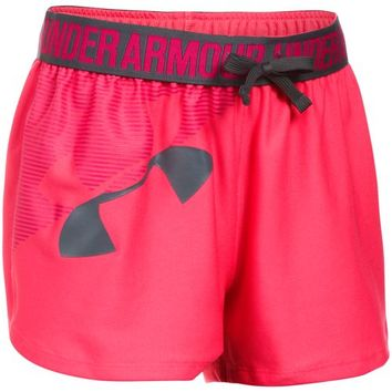 Under Armour Girls' Graphic Play Up Training Short | Academy