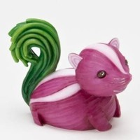 Home Grown from Enesco Purple Onion Skunk Figurine 2.5 IN
