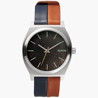 Nixon Time Teller Watch Dark Copper/Navy/Saddle One Size For Men 25994221101