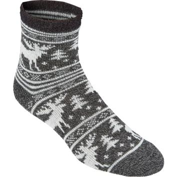 Magellan Outdoors™ Women's Lodge Moose Pattern Socks