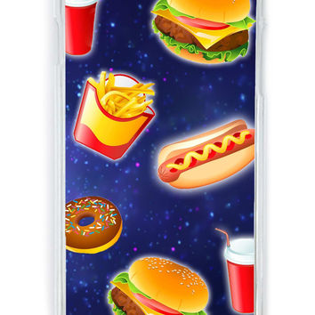 Fast Food Galaxy iPhone 6 Case