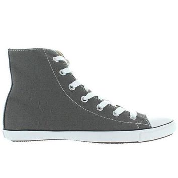 DCKL9 Converse All-Star Chuck Taylor Lite Hi - Charcoal Canvas Slim High Top Sneaker
