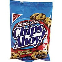 NABISCO SNACK SIZE CHIPS AHOY 1 Oz