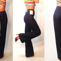 "Dead Stock Vintage 1970's Levi's Orange Tab 27 to 28 x 36"" UNWORN Rare Bell Bottoms 