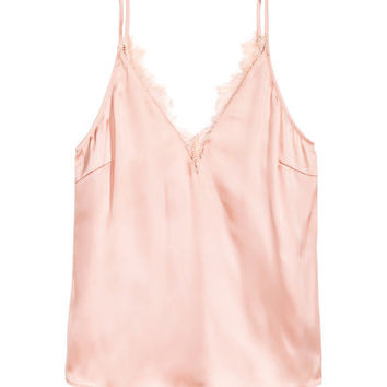 Satin Top - from H&M