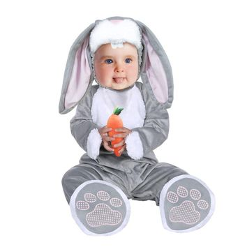 Umorden Carnival Halloween Costumes Toddler Infant Baby Bunny Rabbit Costume Cosplay for Baby Girl Boy Fancy Dress Jumpsuit