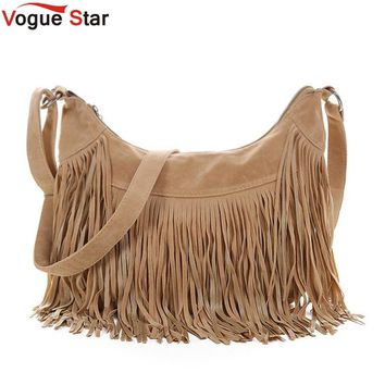 Vogue Star Women's Fringe Messenger Handbag