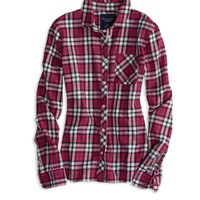 AE REAL SOFT HERITAGE PLAID SHIRT