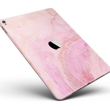 "The Pink Orange Watercolors Under a Microscope Full Body Skin for the iPad Pro (12.9"" or 9.7"" available)"