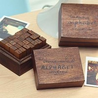 YESSTYLE: Na Na- Set of 28: Alphabet Stamp - Free International Shipping on orders over $150