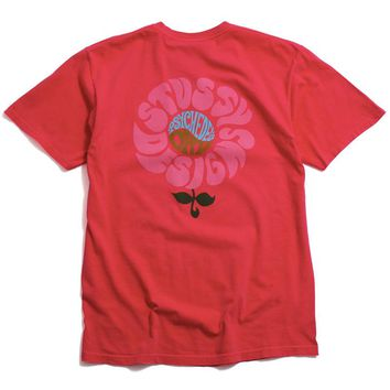 Acid Drop Pigment Dyed T-Shirt Rose