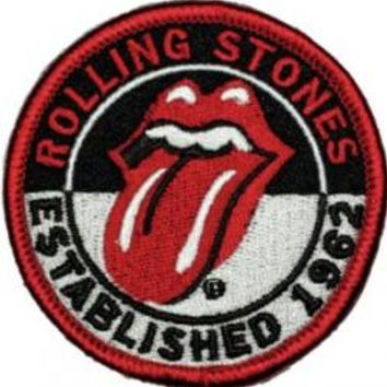 Rolling Stones Iron-On Patch - Established 1962