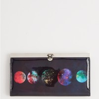 Distant Planets Accordion Wallet