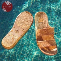 Brown Jandals - Pali Hawaii - Hawaiian Jesus Sandals