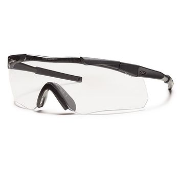 Smith - Aegis Arc Compact Black Sunglasses / Clear Lenses