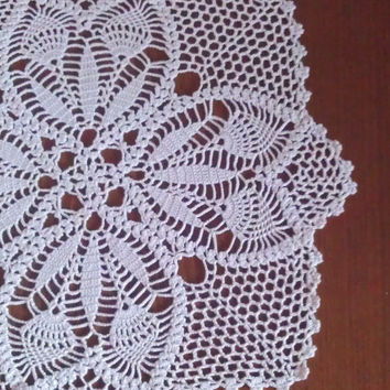 Lovely Doily, Crochet Tablecloth, Home Decor, Ready to Ship