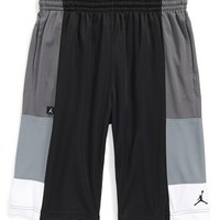 Boy's Jordan 'Colorblock' Basketball Shorts