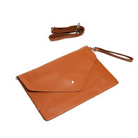 Envelope Clutch Purse Handbag