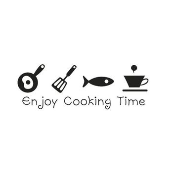 Cooking Decal for any kitchen or restaurant