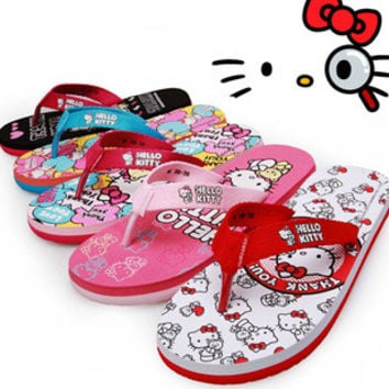 Stylish Summer Design Cool Anime Slippers Cartoons Bathroom Home Beach Anti-skid Sandals [4918337092]