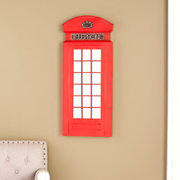 Edmond Phone Booth Wall Mirror