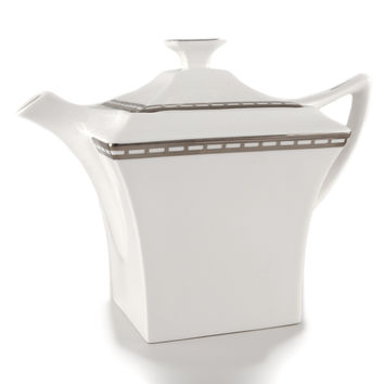 Platinum Jacob's Ladder Coffee & Tea Pot