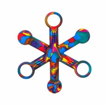 Hexichew - Tie Dye - Chew Fidget for Sensory, Oral Motor, Anxiety, Autism, ADHD