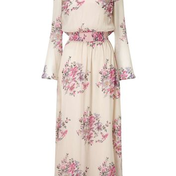 Floral Print Maxi Dress - Maxi Dresses - Dress Shop
