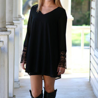 Irrep-Lace-able Dress - Black
