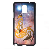 Space Fox Nebula Galaxy for Samsung Galaxy Note 4 Case *07*