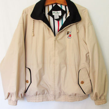 Vintage Mickey Mouse Golf Jacket