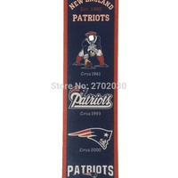 New England Patriots Champion Team San Francisco Giants Rectangle Heritage Flags Banners With String Felt Pennats 8in x 32in