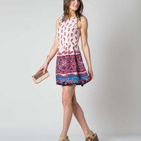 Patrons of Peace Printed Dress
