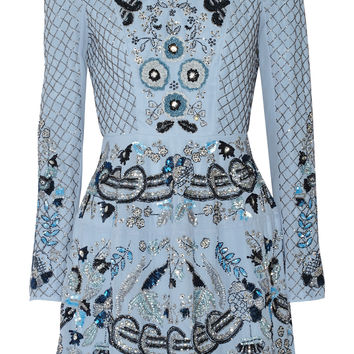 Needle & Thread - Embellished chiffon mini dress