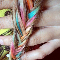 "Salon Grade HAIR CHALK - Pick your Color - (1) ""Big Stick"" - Temporary Hair Dye - Hair Tint - Hair Rub - Dip Dye"