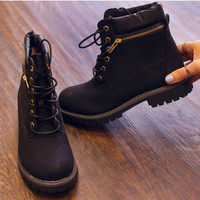City To City Boots - Black