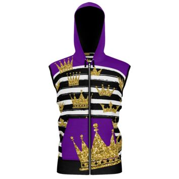 Royalty In My DNA Sleeveless Hoodie