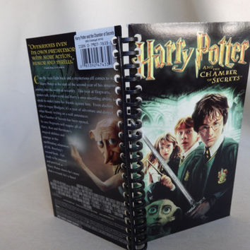 Harry Potter and the Chamber of Secrets VHS Tape Box Notebook
