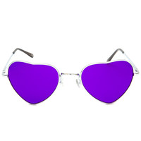 Lennon Love Sunglasses - Purple