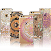 Clear Bohemian iPhone 5/S/6/S Case