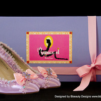 Rapunzel Couture Style Adult Costume Pair Pumps Heels Shoes Custom Made