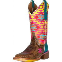 Women's Cinch Old El Paso Aztec Top Cowgirl Boots
