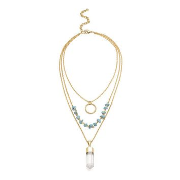 Indira Cascade Necklace