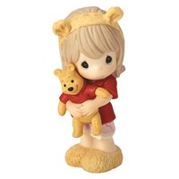 """Hunny, There's Nobody Sweeter Than You"" Disney Winnie The Pooh Figurine, Girl, Porcelain"