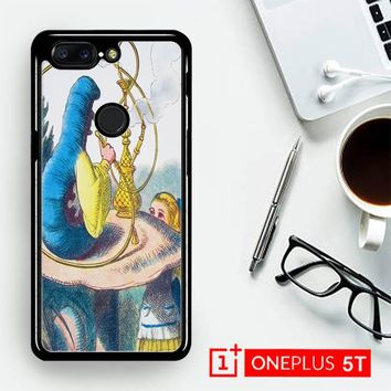 Alice In Wonderland Hookah Caterpillar V1381  OnePLus 5T / One Plus 5T Case